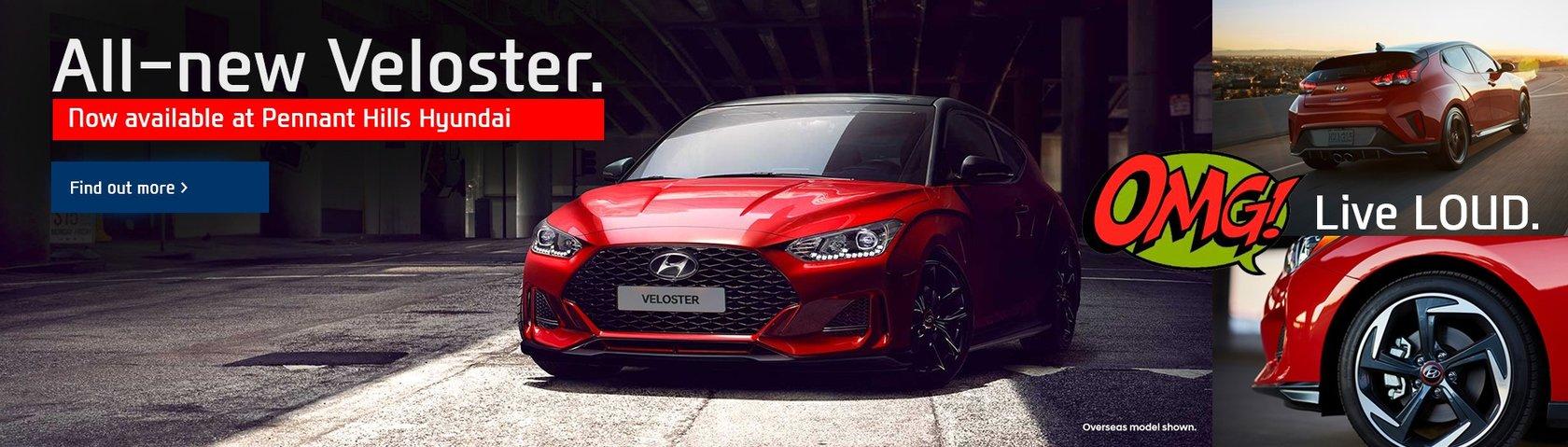 Pennant Hills Hyundai - All-New Veloster