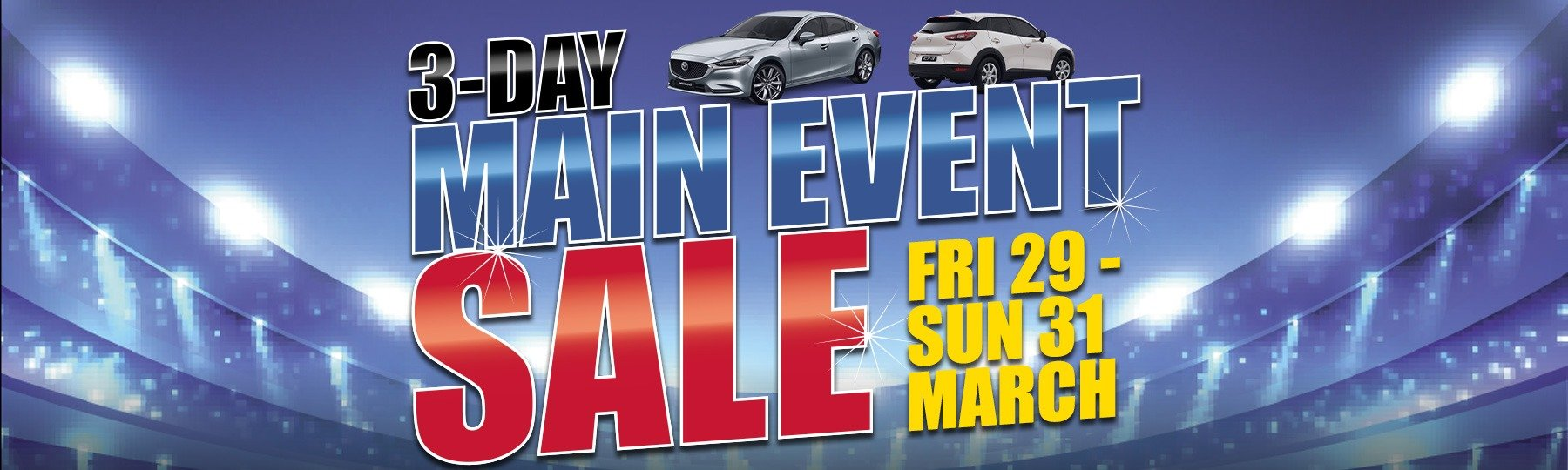 3-Day Main Event Sale!