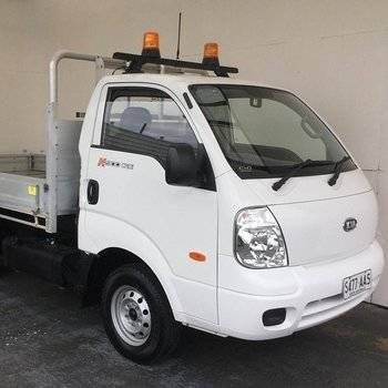 2008 Kia K2900 Cab Chassis Truck Small Image