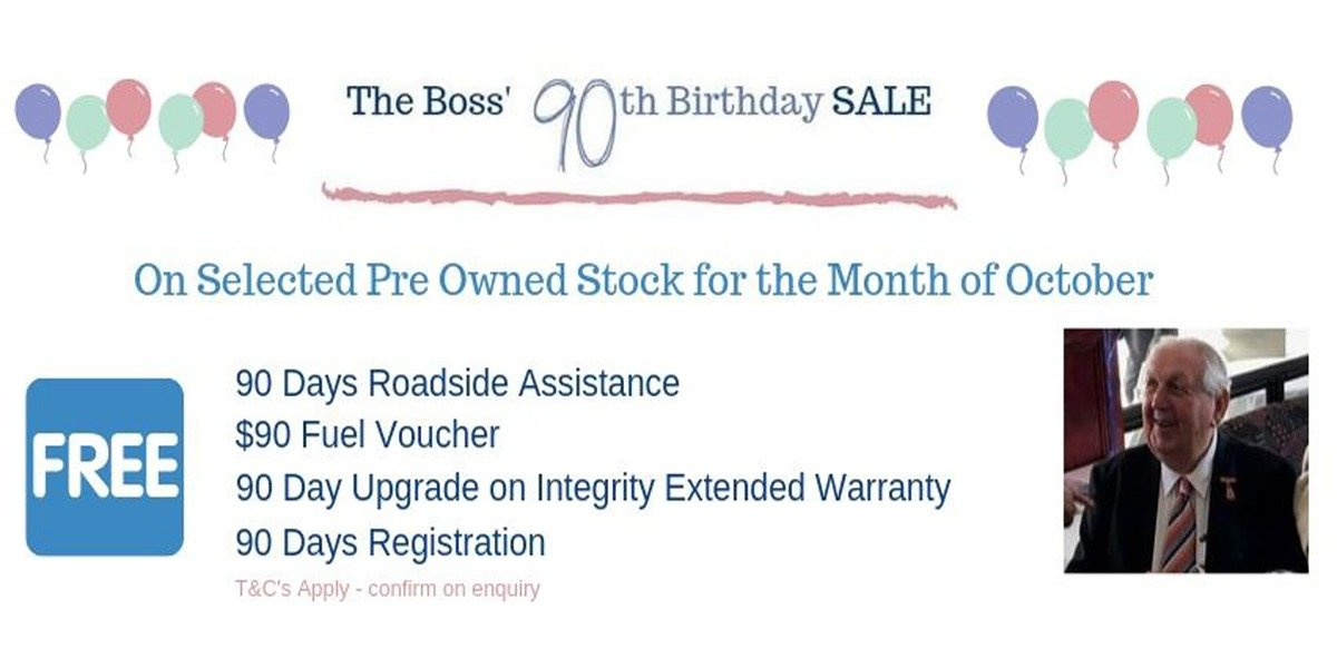 blog large image - The Boss' 90th Birthday SALE