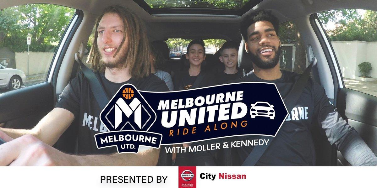 blog large image - Melbourne United Ride Along