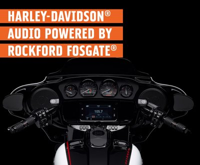 Rockford Fosgate's®_Partnership_with_H-D®  image