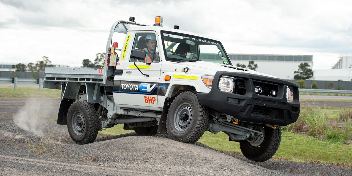 blog large image - TOYOTA AUSTRALIA AND BHP ANNOUNCE PILOT TRIAL OF CONVERTED ELECTRIC VEHICLE