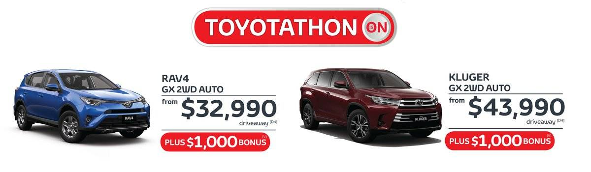 Waverley Toyota's Great Value, still feeling it sale on Rav4 and  Kluger  Large Image