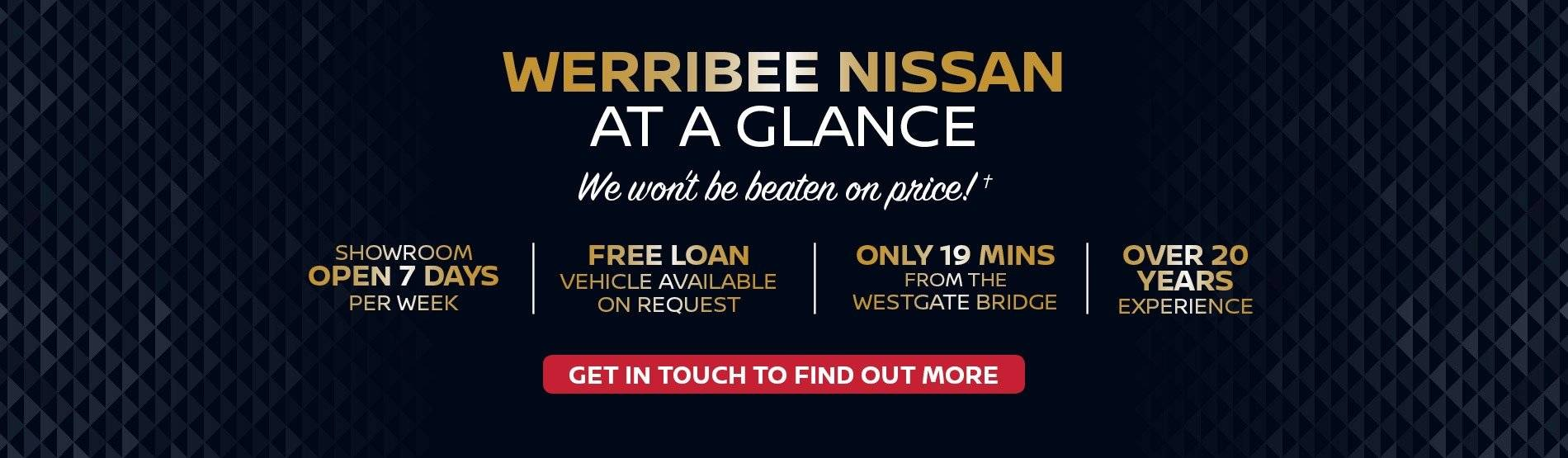 Werribee Nissan - At A Glance