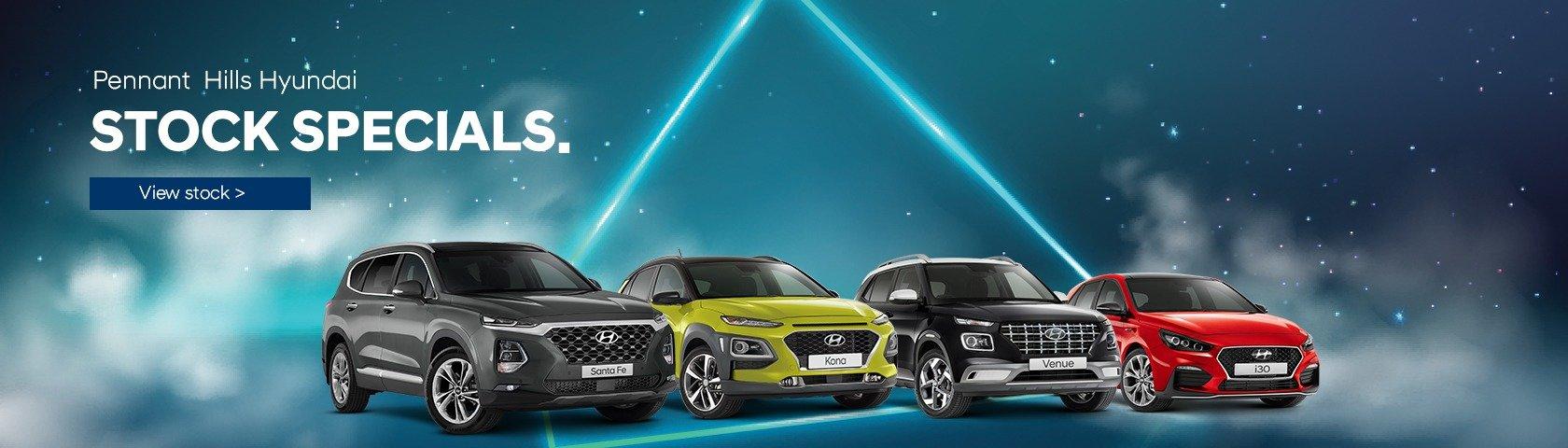 Pennant Hills Hyundai | Stock Specials