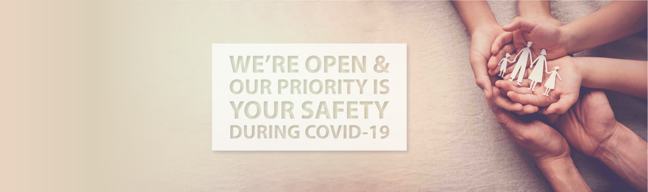 COVID Safety is our priority