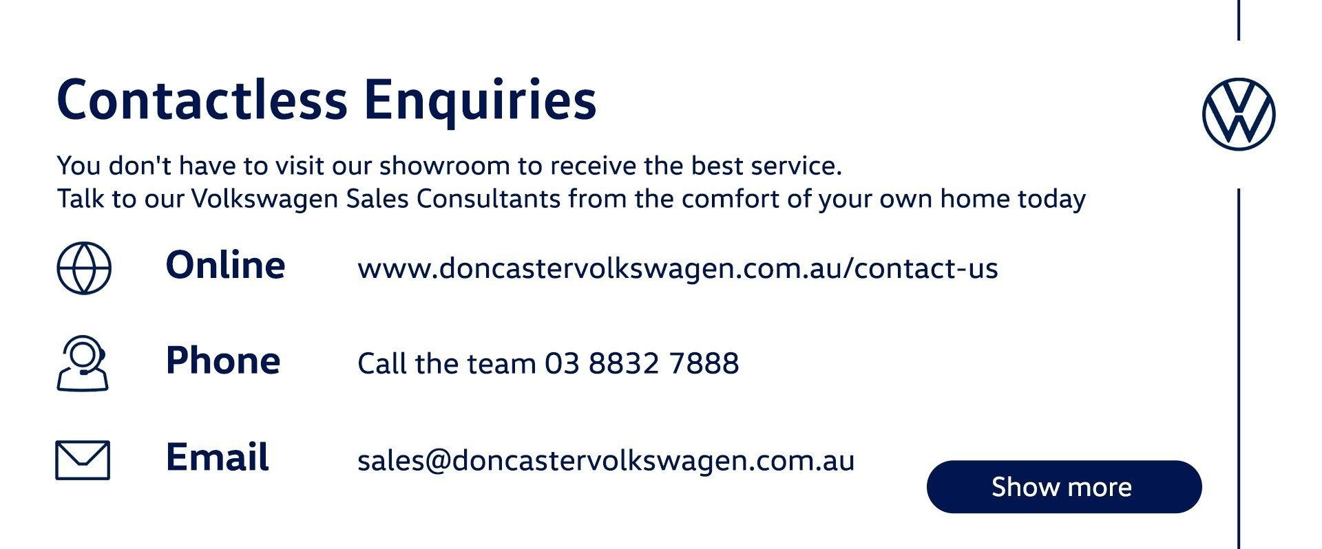 Contactless Enquiries