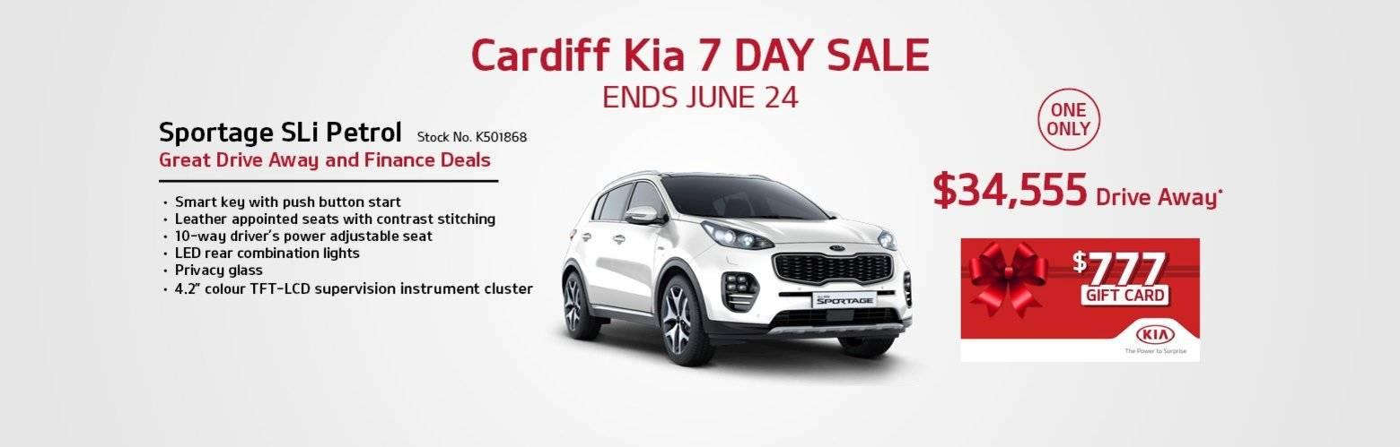 cardiff Kia 777 sale