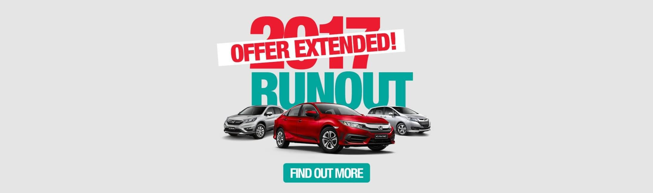 Honda 2017 Runout Sale Extended   Western Highway Honda