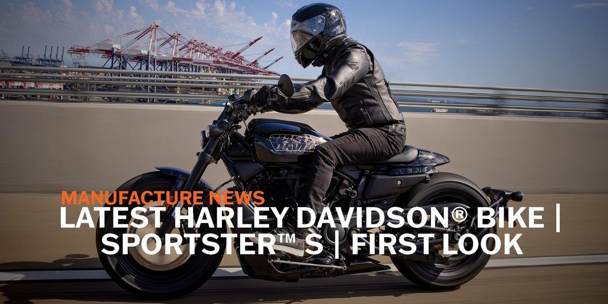 blog large image - Latest Harley Davidson® Bike   Sportster™ S   First Look