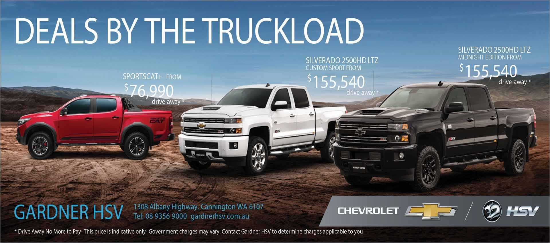 Deals By the Truckload