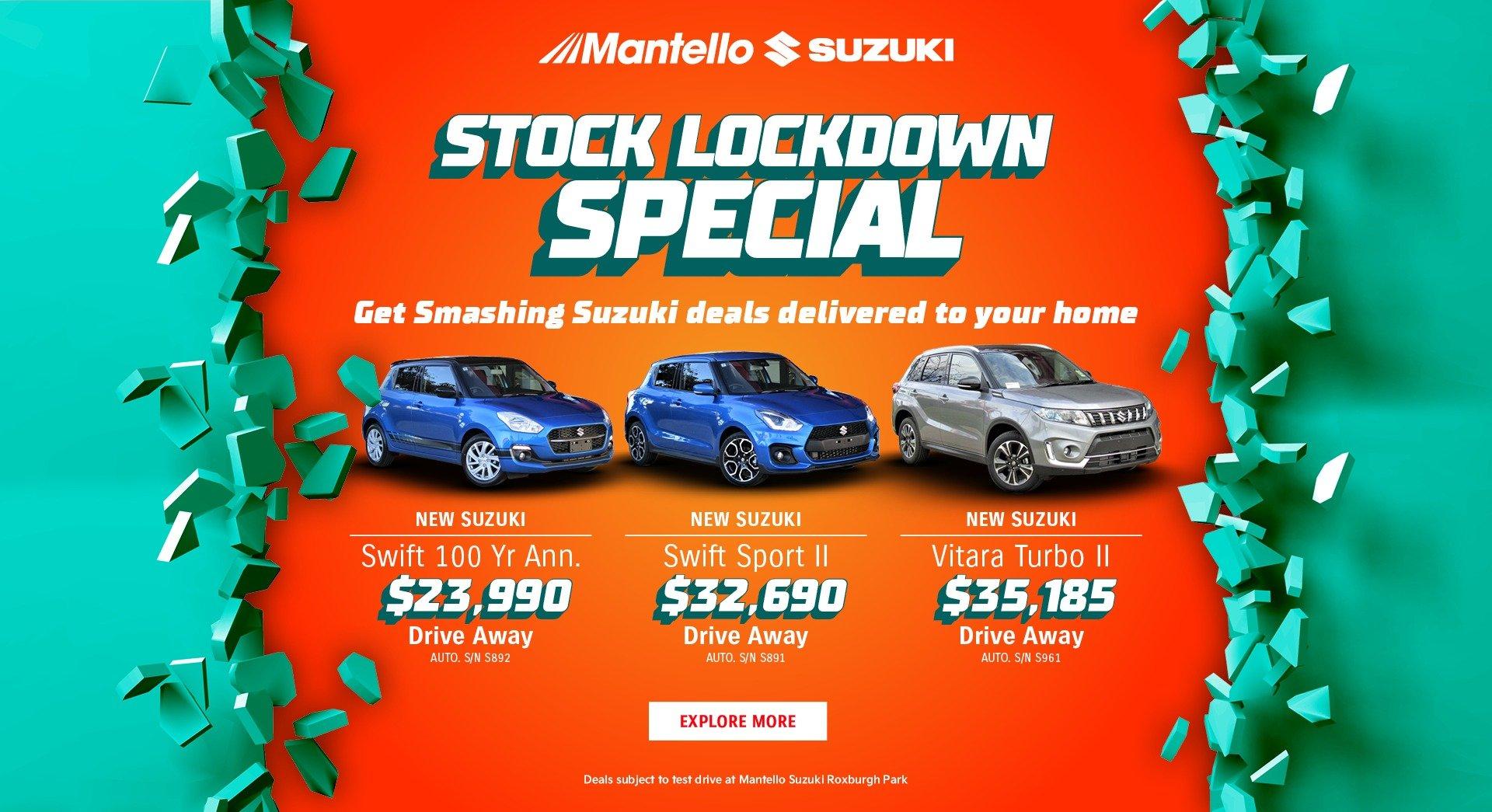 Suzuki stock specials