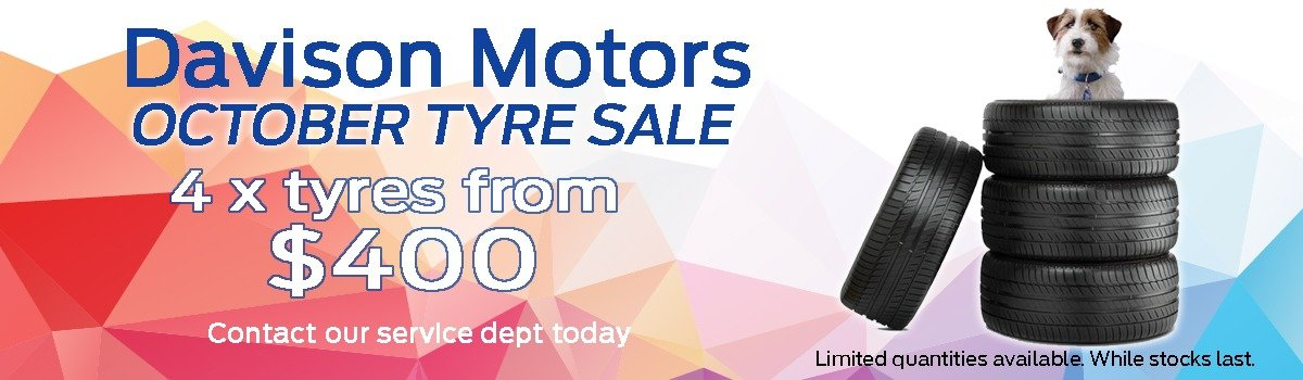 Davison Motors October Tyre Sale Large Image