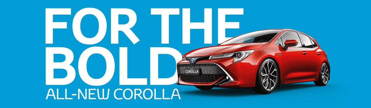 All-New Toyota Corolla is Here Large Image