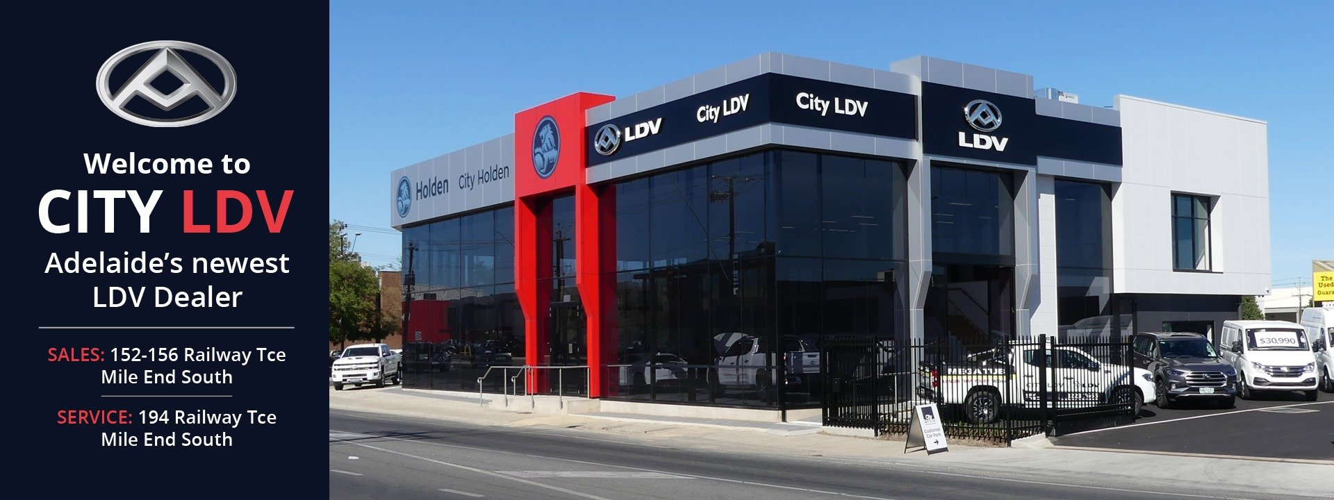 City LDV New & Used Cars | Adelaide