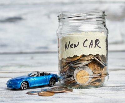 Saving for new car image