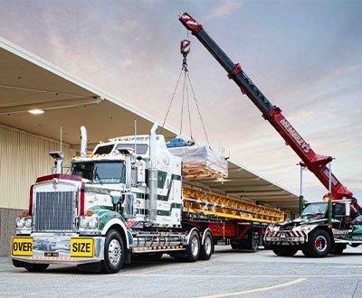 Membrey's Transport & Crane Hire Legend 900 Hallam Truck Centre image