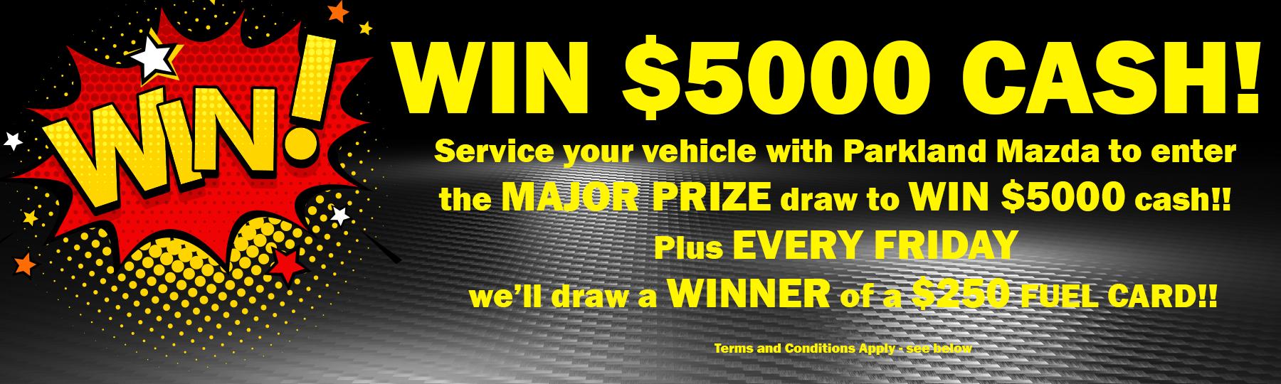 WIN $5000!