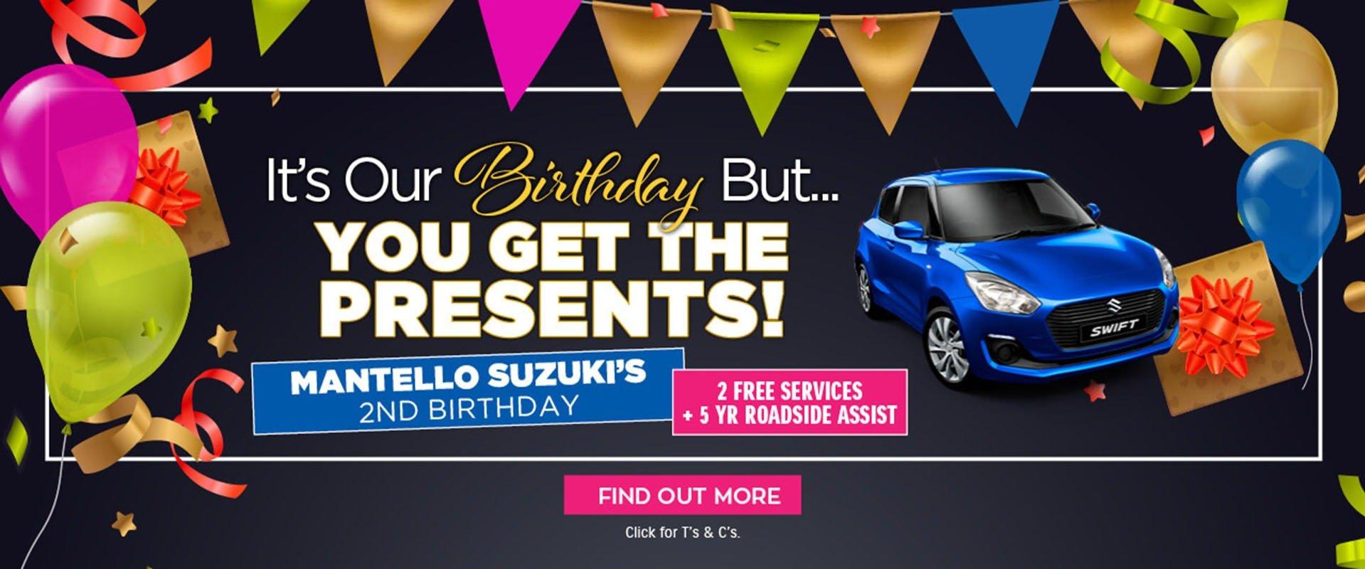 Mantello Suzuki's 2nd Birthday!
