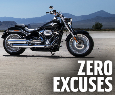 Zero Excuses: There's Never Been A Better Time To Buy A Harley® image