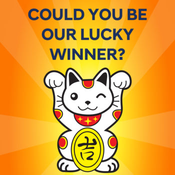 Could you be our Lucky Winner? Small Image
