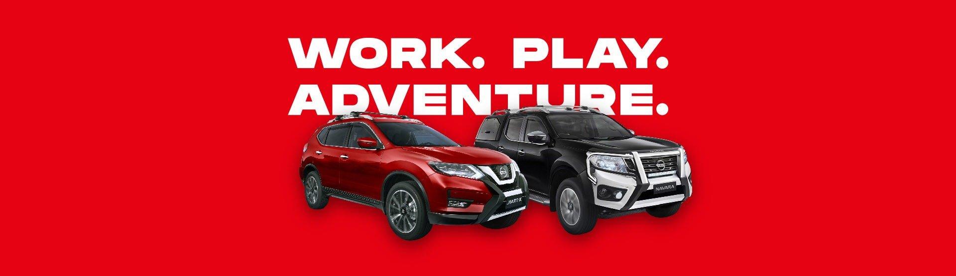 Warragul Nissan - Navara & X-Trail Banner