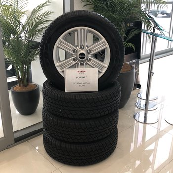 Brand new Isuzu D-MAX LS-T Tyres & Alloy wheels Small Image