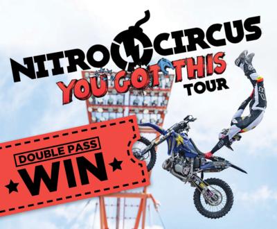 Win a Double Pass to Nitro Circus! image