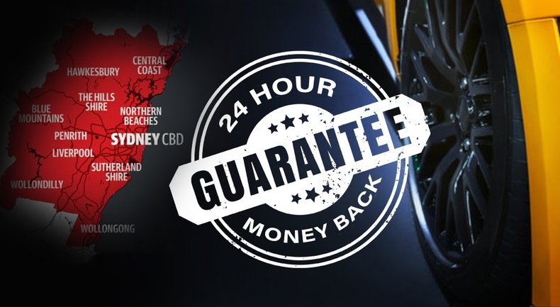 24 Hr Money Back Guarantee on Pre-Owned Vehicle Purchases Small Image