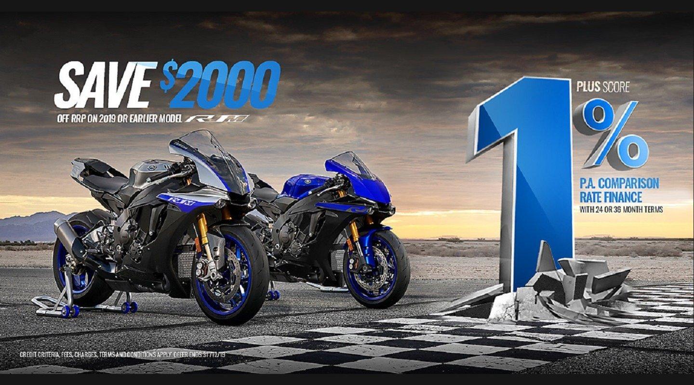 Yamaha 1% Comparison Rate