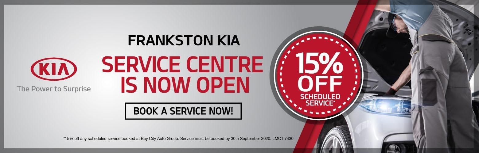 Frankston Kia - We're Open
