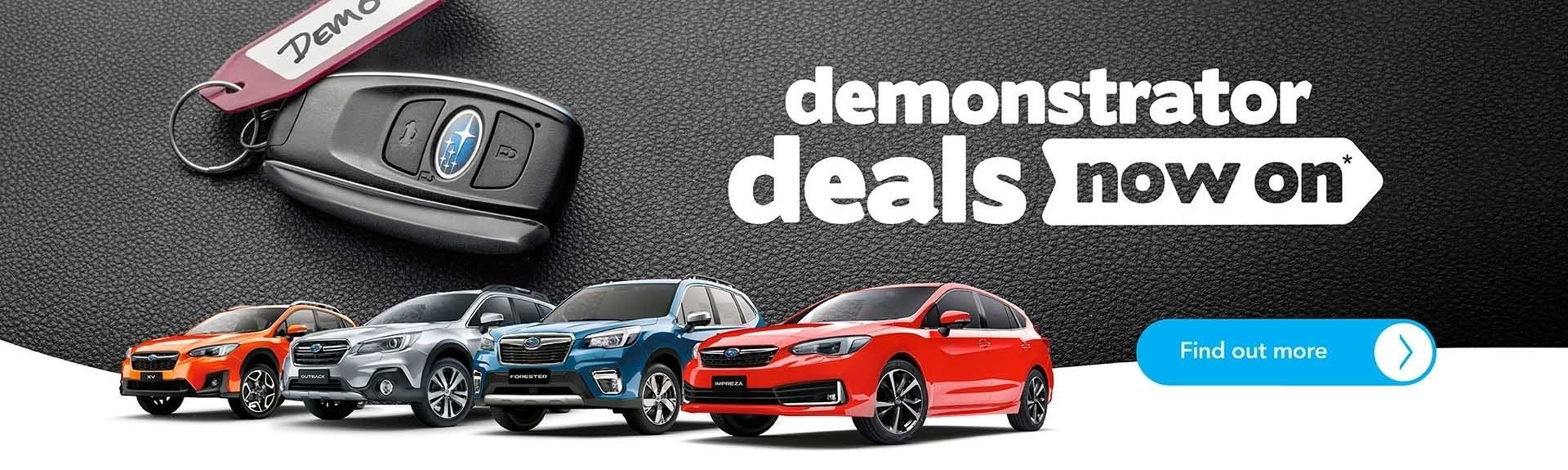 Subaru Penrith - Demonstrator Sale on now