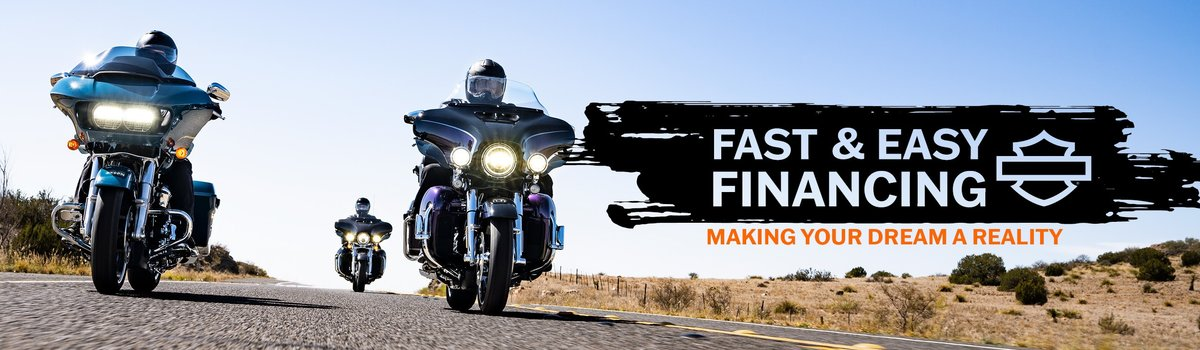 FINANCE YOUR DREAM HARLEY-DAVIDSON® TODAY Large Image