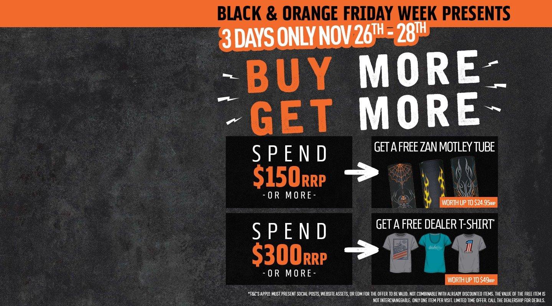 Black And Orange Friday Week