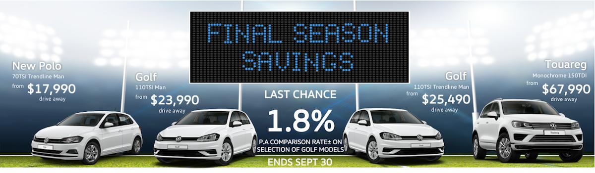Final Season Savings Large Image