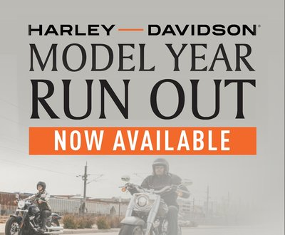 Harley-Davidson® Model Year Run Out MY19 MY18 image