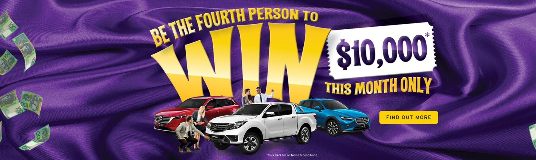 Rockdale Mazda - Your Chance to Win