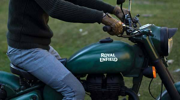 Royal Enfield Welcome