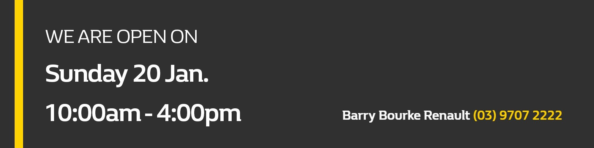 BarryBourkeRenault-open on 20Jan.