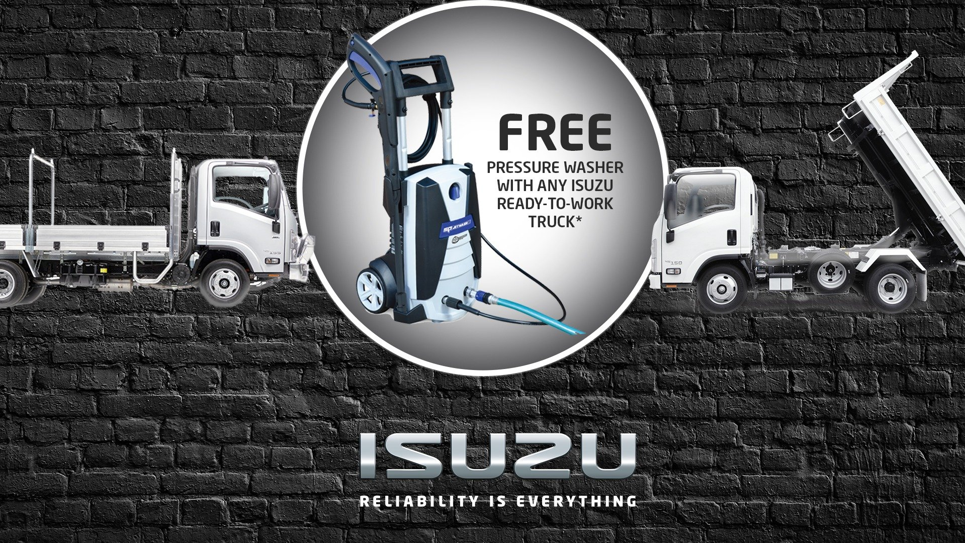 Free Pressure Washer Promotion
