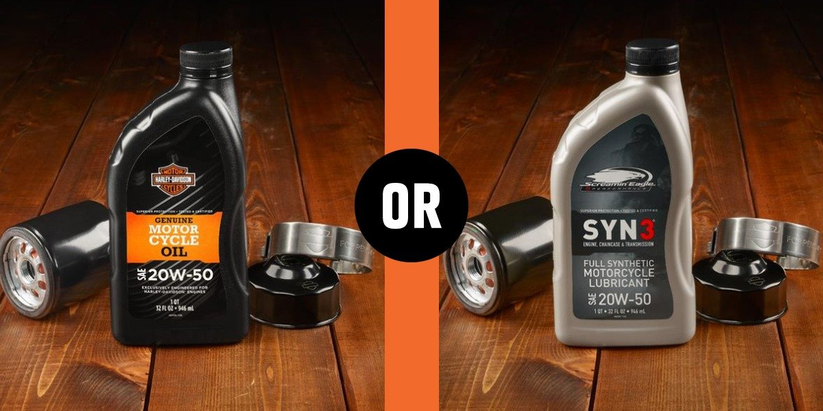 blog large image - Screamin' Eagle® Syn3® vs H-D® Genuine Oil SAE 20w50
