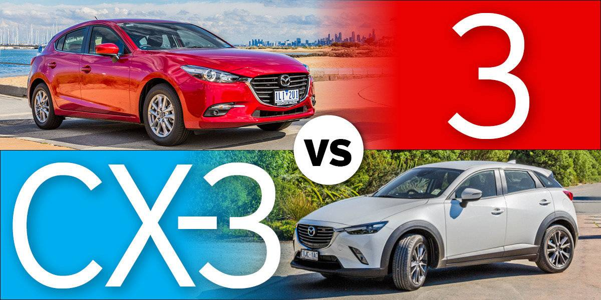 blog large image - Should you buy a Mazda3 or CX-3?