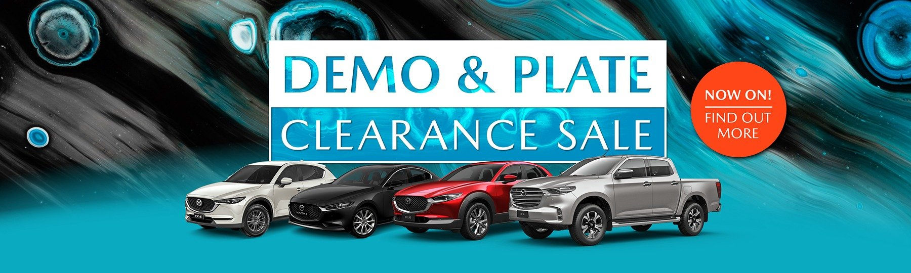 Demo clearance on now!