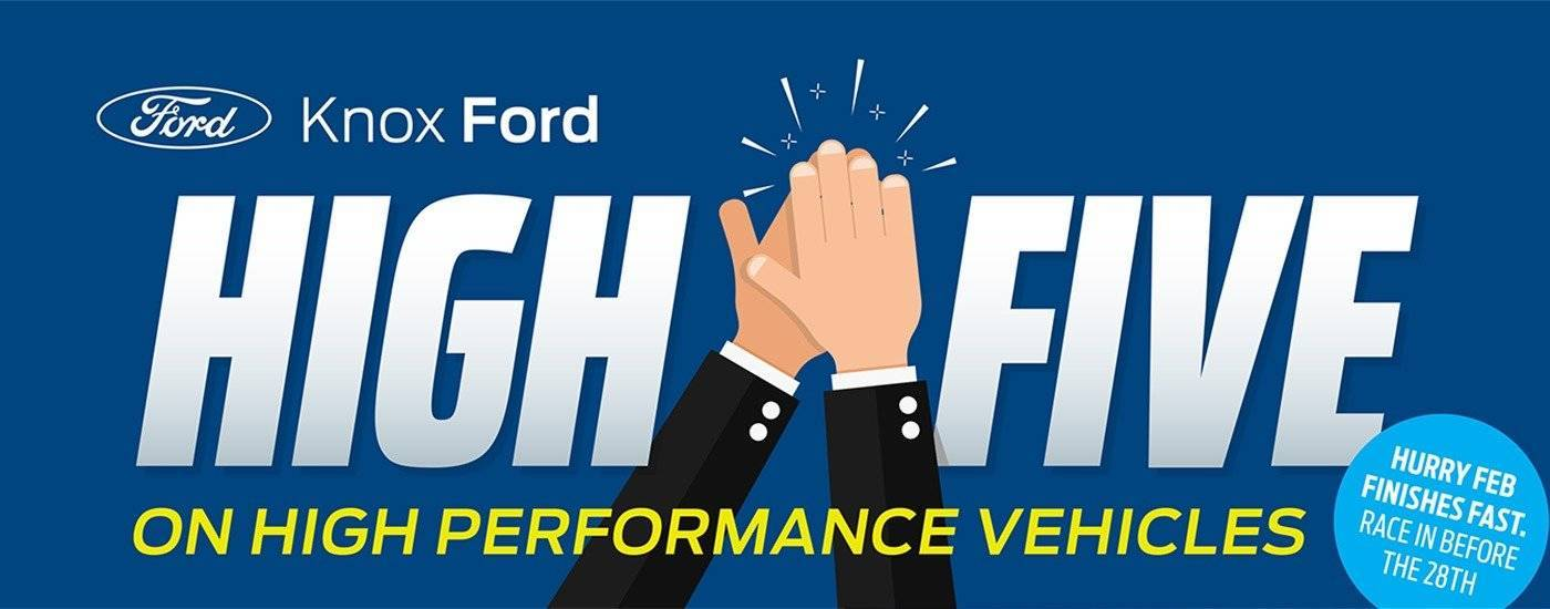 Knox Ford High Five Performance Vehicles