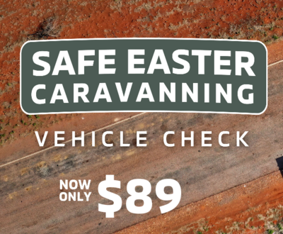 Safe Easter Caravanning Vehicle Check image