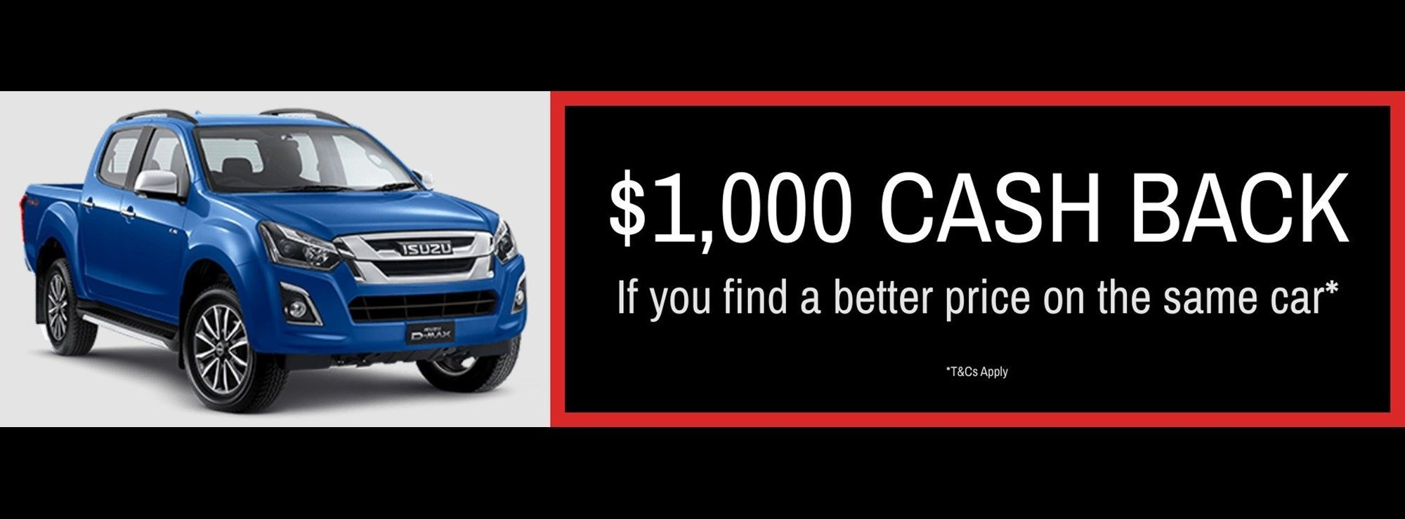 Wayne Philis Isuzu Ute Price Guarantee