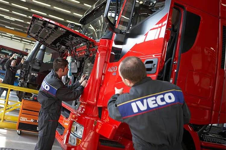 Time for a Service? Book a certified service online at Honeycombes IVECO