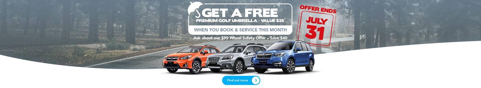 Trivett Subaru Service Offer