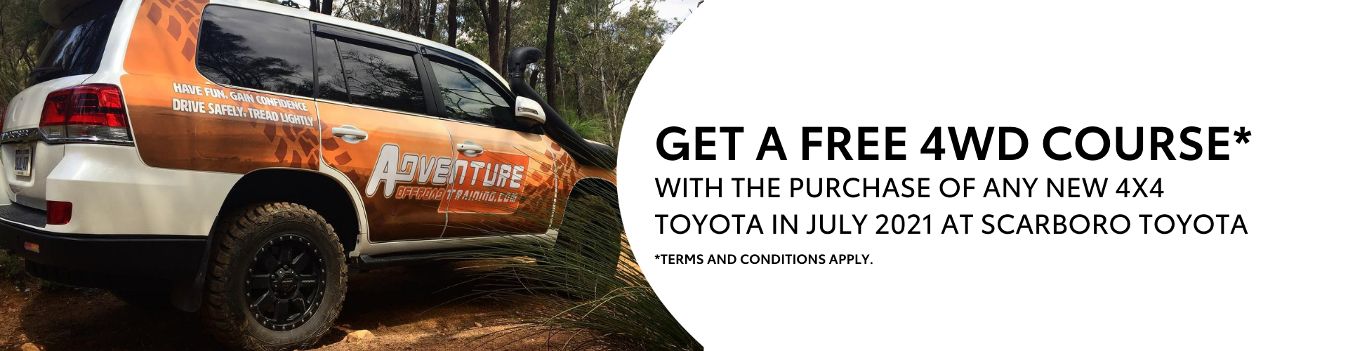 Free 4WD Training Course - July 21